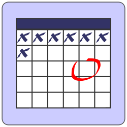 calendar by CoD_fsfe - Calendar/todo/deadline icon Originally developed for www.studenti.unige.it