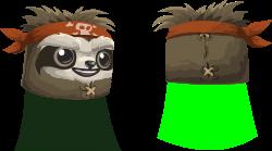 Avatar wardrobe hat glitchamaphoneslothmask