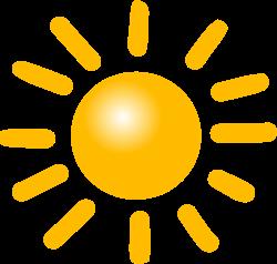 Weather Symbols: Sun by nicubunu - A bright sun