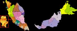 Peninsular malaysia postcode map