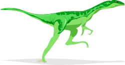 Architetto -- Dino 09 by Anonymous - Small bipedal dinosaur by Francesco 'Architetto' Rollandin.