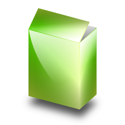 Green Box by ronoaldo - A simple green box in perspective view.