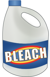 Cwt bleach bottle