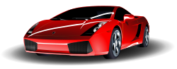 Red Lamborghini by ryanlerch - a simple colour change remix of Lamborghini Gallardo by Micha? Pecyna.