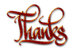 Thanks, textured digital calligraphy by florinf - Just a digital word written in Inkscape. Thanks, digital calligraphy. This is the textured version.