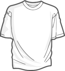 Blank T-Shirt by DigitaLink - It's just a blank T-shirt. I had to create something to use for a contest ... figured I may as well share it.