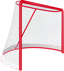 Hockey Goal by J_Alves - A hockey goal, drawn in Inkscape.