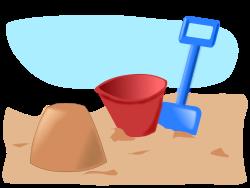 sandcastle 2 by addon - sandcastle, bucket and spade