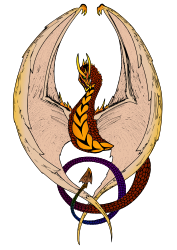 Wyvern (in color) by eady -