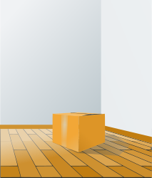 box over wood floor by rg1024 -