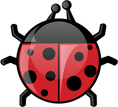 Ladybug by pianoBrad - A Ladybug, created for the Spring 2010 Clip Art Package Release