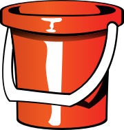 Summer Pail by pianoBrad - A pail, created for the