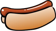Summer Hot Dog by pianoBrad - A hot dog, created for the