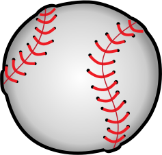 Baseball by pianoBrad - A baseball, created for the Sports 2010 Clip Art Package Release.