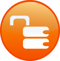 unsecure lock by shokunin - Set of web 2.0 icon, available as one download,look in my clip arts.