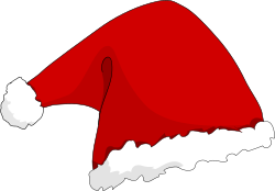 Santa Hat by TheresaKnott - A santa hat for christmas sutable for putting on other drawings.