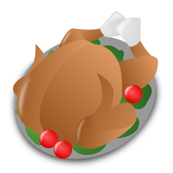 Thanksgiving Day Icon by nicubunu - Thanksgiving Day - turkey  Part of the