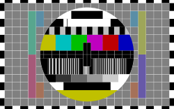 TV testscreen by Firstl4rs - Image used to test reception quality on tv-set