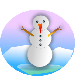 snowman remix 2010 by netalloy - derived from snowman by Briana83, the original art was good ,except the filters were not seen on this site.