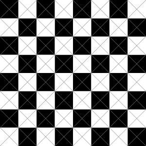 Download Clipart - chessboard-diagonal-cuts