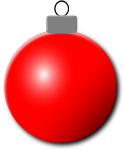 Clipart - Christmas Ornament