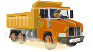 Clipart Lastwagen Kipper