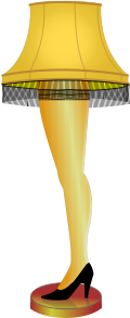 Clipart - Leg Lamp - A Major Award