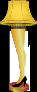 Clipart - Leg Lamp - A Major Award