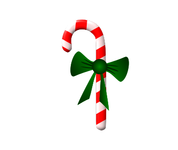 Clipart - Candy Cane