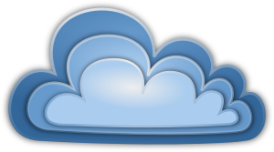 The Cloud clip art