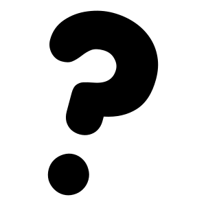 Clipart - primary question mark