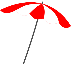 Clipart - Beach umbrella