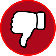 Image result for small thumbs down