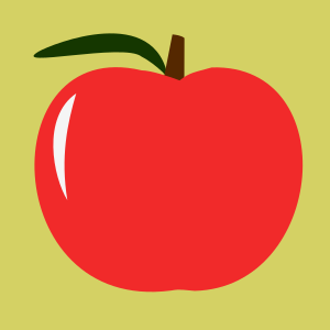 Clipart - apple 02