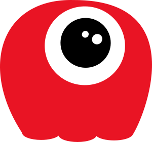Clipart alien red one eye no tentacles