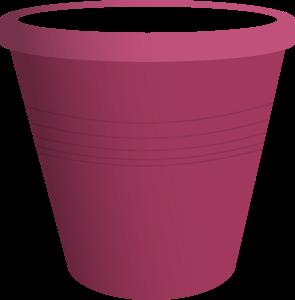 Clipart - Pink Plastic Bucket