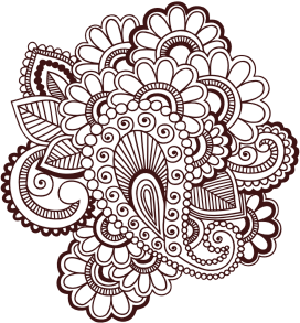 Clipart Henna Tattoo
