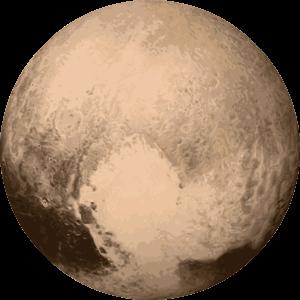 pluto dwarf planet clipart - photo #37