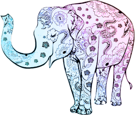 https://openclipart.org/image/300px/svg_to_png/229218/Blue-Floral-Elephant.png