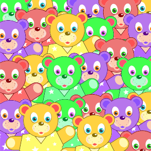 https://openclipart.org/image/300px/svg_to_png/230149/Multicolored-Teddy-Bears-Background.png