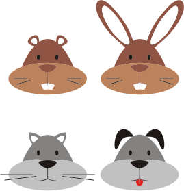 https://openclipart.org/image/300px/svg_to_png/231065/Animal-Heads.png