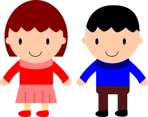 clipart girl and boy rh openclipart org clipart school girl and boy clipart images of girl and boy