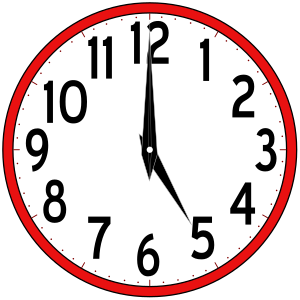 Clipart - Scripted Clock Animation