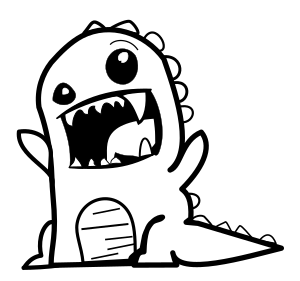 https://openclipart.org/image/300px/svg_to_png/234370/rawr-dinosaur-black-and-white.png