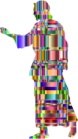 https://openclipart.org/image/300px/svg_to_png/241710/Checkered-Chromatic-Jesus-Christ-Silhouette.png