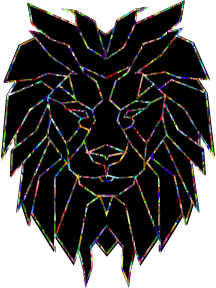 https://openclipart.org/image/300px/svg_to_png/244238/Chromatic-Polygonal-Lion-Face.png