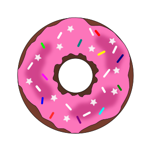 https://openclipart.org/image/300px/svg_to_png/248897/Stars-and-Sprinkles-Donut.png