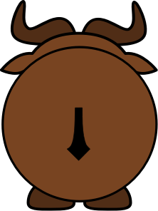 https://openclipart.org/image/300px/svg_to_png/260313/Gnu-Back.png