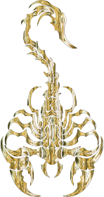 https://openclipart.org/image/300px/svg_to_png/279893/Sleek-Tribal-Scorpion-Gold-2.png