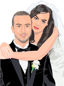https://openclipart.org/image/300px/svg_to_png/285145/Bride-And-Groom-Wedding-Portrait-By-Heblo.png